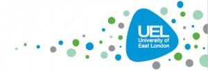 UEL logo background template