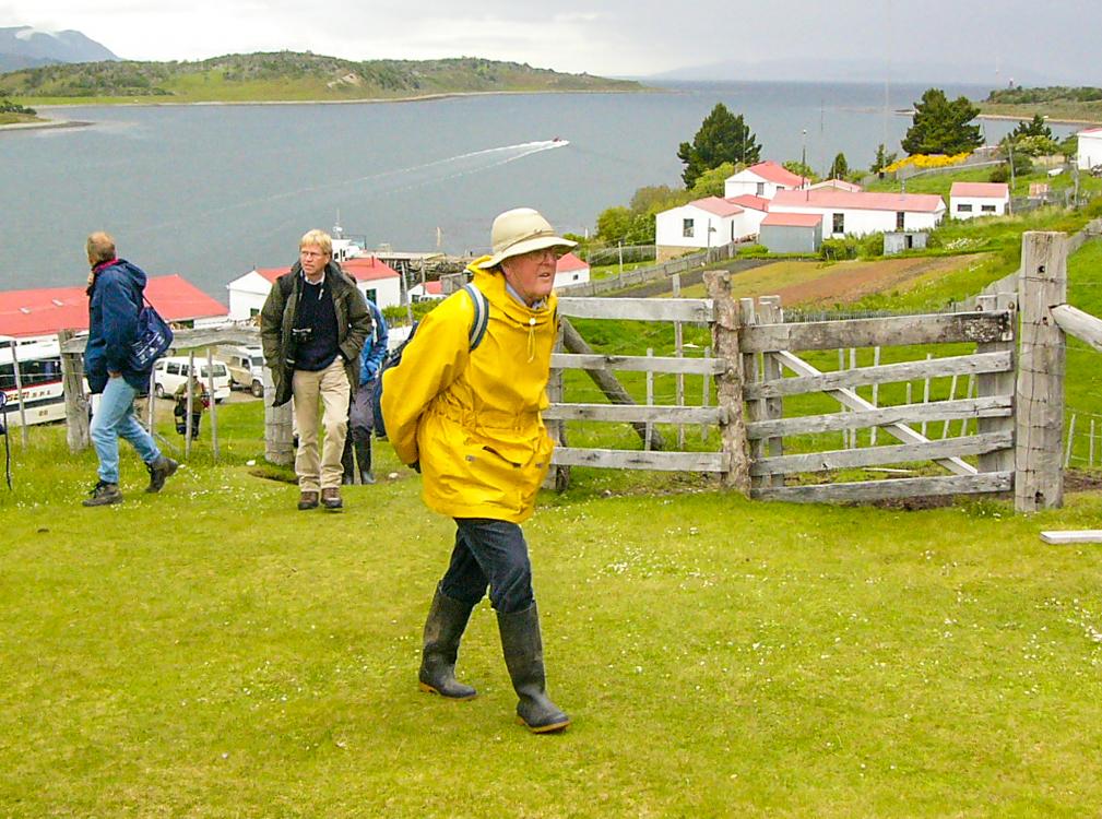 Dicky Clymo - Tierra del Fuego 2005