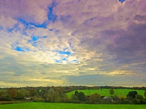 Galleywood fields - painterly treatment